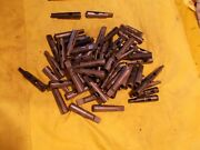 56 Pc Box Lot Of 2 Morse Taper Drill And Tap Drivers Straight Shank Made In Usa