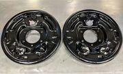 Shelby Gt350 Gt500 Rear Brake Plates Kh Fomoco Assembly Line Pair 65 66 67 Show