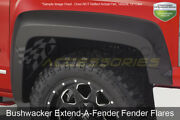 Extend-a-fender 2pc Front Flares Blk For 04-2008 Ford F150|06-08 Lincoln Mark Lt