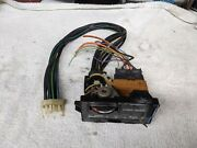 Cadillac Fleetwood Deville Climate Control Heater Switch '77-80 W/ Vacuum Harnes