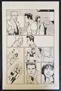 Amazing Spider-man Original Art Page - Issue 692 Pg 17 Signed By Humberto Ramos