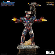 Avengers Endgame Iron Patriot And Rocket Raccoon Bds Art Scale 1/10 Statue