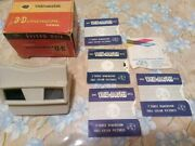 Viewmaster 3d-model G + 5 View Master Discs+ Box
