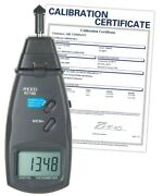 Reed Instruments R7100 Combination Contact / Laser Photo Tachometer