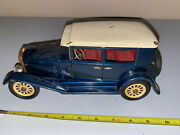 Vintage Tin Car With Key Unkown Maker Make Offer