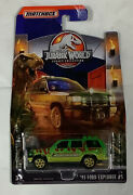Andlsquo93 Ford Explorer 5 Jurassic World Legacy Collection Matchbox Diecast