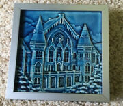 """Rookwood Pottery Tile 6""""x 6"""" Commemorative Collection Music Hall Numbered 10047"""