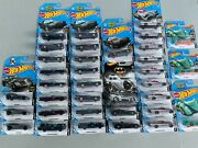 Hot Wheels Lot Of 35 Batman Mobile All Different Versions Rare Find Look