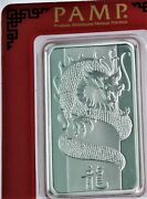 2012 1 Oz .999 Silver Pamp Dragon Bar In Assay Bu And Lovely.
