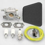 Carburetor Gaskets Air Fuel Filter Kit For Partner Poulan Mcculloch Chainsaw Set