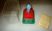Snoopy Timex Watch  New In The Case / Dog House Made In 1950's Early 1960's