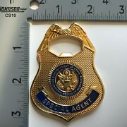 Badge Coin Police Military Bottle Opener Embassy Fbi Diplomatic Security Agent