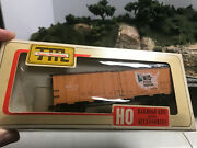 Train Miniature 8126 Ho Vintage Mid State Packers Steel Reefer, Kd's Rtr Ob