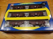 Athearn 70836 Ho Scale Great Northern 34' 2 Bay Offset Hopper 6-pack Nib Gn