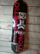 Freebord Ignition Down Hill Skateboard Deck 77cm Dh Brand New Maple 7 Ply