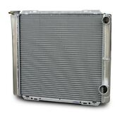 Afco Racing Products 22 In W X 19 In H X 3 In D Aluminum Radiator P/n 80100ndp