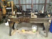 1880's Flather And Co. 14x36 Machinist Lathe And Tooling