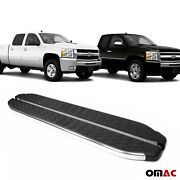 Side Steps Running Boards Nerf Bars Chrome For Chevy Silverado 2007-2013