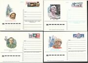 Russia/ussr Postal Stationery 9 Postcards With Original Stamp Space