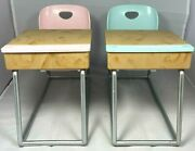 Our Generation Awesome Academy School Room Desks Two Pink And Aqua Fits 18 Doll