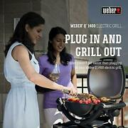 Weber 52020001 Q1400 Electric Grill Gray