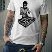 Kung Fu Dj T-shirt Mma Ufc Tapout Turntable Record Club Dragon Japanese Chinese@