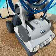 Maytronics Dolphin Dx6 Robotic Pool Cleaner Vacuum W/caddy And Remote Msrp1299