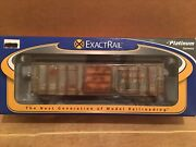 Ho Exactrail Texas Mexican Railway 50' P-s 5344 Boxcar Tm 3216 Weathered Up Kcs