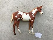 Breyer Peter Stone Horse Paars Dream Doll Chestnut Pinto Weanling First Edition