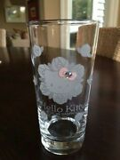 Auth Vintage Hello Kitty Sanrio 1999 Limited Edition Rose 4 Drinking Glasses