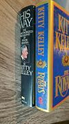 The Royals And His Way Frank Sinatra By Kitty Kelley Hardcover Dj 1st Ed.