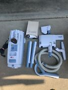 Electrolux Aerus Canister Vacuum Cleaner. Model 7000 Blue. Runs Tip Top.