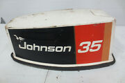 Evinrude Johnson 20hp 25hp 30hp 35hp Motor Cover Cowl Hood Cowling 1970s-1990s
