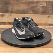 Nike Zoom Fly Menand039s Athletic Shoes Sneaker Running Walking Black White Size 9
