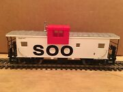 Ho Atlas Soo Line Extended Vision Caboose 2 Metal Wheels Cp Wc Bn Gn Milw