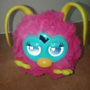 2012 Hasbro Furby Party Rockers Creature Pink Loveby W/ Yellow Ears