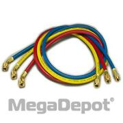 Yellow Jacket 21983 Plus Ii Red/ Yellow/ Blue Charging Hoses