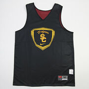 Usc Trojans Nike Team Practice Jersey - Basketball Menand039s Black Used