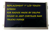 Replacement 7 Lcd Digitizer Touch-screen For Uconnect Radios Vp2 2018-2022