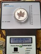 2016 Canadian Maple Leaf Tank Privy Reverse Proof Coin .9999 Ultra Fine Silver