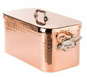 Mauviel Mand039tradition Hammered Copper Collection Braising Pan 36 X 21 Cm New