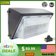 Dusk To Dawn Commercial Led Wall Pack Lights Outdoor Area Security Lighting 125w
