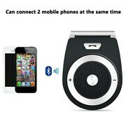 Bluetooth Wireless Handsfree Speaker Phone In-car Devices Kit W/ Micandcar New