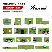 Xhorse Solder-free Adapters And Cables Full Set Work For Key Tool Plus/mini Prog