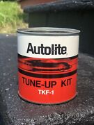 Vintage Ford Autolite Tin Tune-up Kit Can For Display Fomoco Parts Dealership