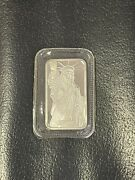 1 Statue Of Liberty- 1oz Silver Bar Bullion .999 Pure Silver - One Troy Ounce-
