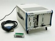 National Instruments Ni Pxie-1062q 8-slot Pxi Express Chassis+pxie-8105 Pxi-6281