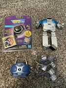 Hit Clips Lot 8 Disk Boom Box, Robot And Ear Clip