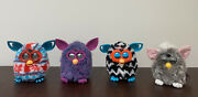 Furby Hasbro Lot Of 4 /1998 And 2012/ Tested And Working /as-is