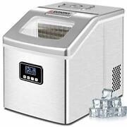 Countertop Ice Maker , 40lbs/24h Auto Self-cleaning, Home/kitchen Or Office